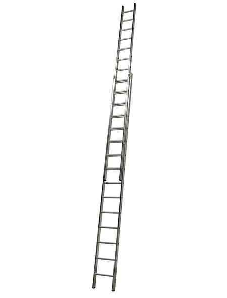 Schiebeleiter »MONTO«, Anzahl Sprossen 30 | Baumarkt > Leitern und Treppen > Schiebeleiter | KRAUSE