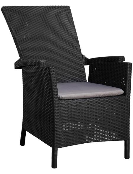 Sessel »Capri«, Kunststoff + Polyester