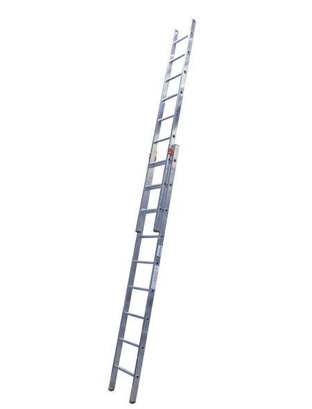 Schiebeleiter »MONTO«, Anzahl Sprossen 18 | Baumarkt > Leitern und Treppen > Schiebeleiter | KRAUSE