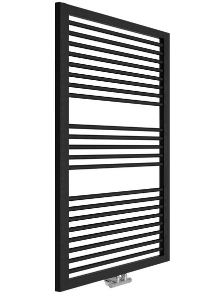 Badheizkörper »Rimini«, B x T x H: 60 x 3 x 122,8 cm, 690 W, anthrazit | Baumarkt > Heizung und Klima > Heizgeräte | SANOTECHNIK