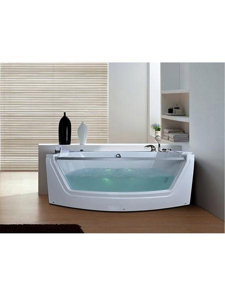 Whirlpoolwanne für 2 Personen, BxTxH: 175x85x60 cm   Bad > Badewannen & Whirlpools > Whirlpools   HOME DELUXE