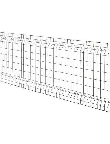 FLORAWORLD 3D-Felder-Zaunmatte, HxL: 80 x 200 cm, grün