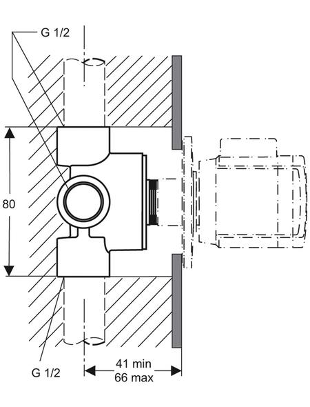 4/3 Wegeumstellung Bausatz, Metall