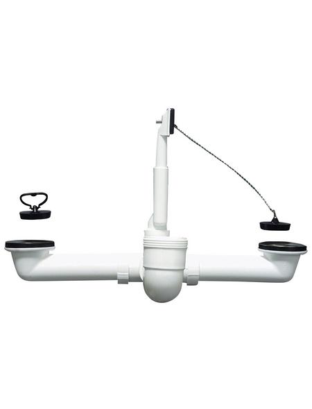 CORNAT Ab-/Überlaufgarnitur, Durchmesser: 40/50 mm, Kunststoff
