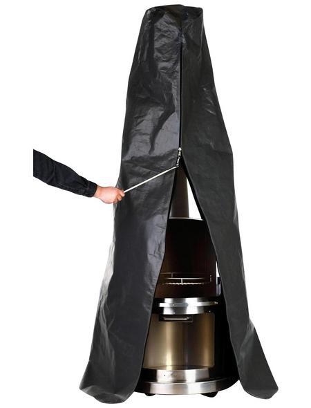 BUSCHBECK Abdeckhaube für Edelstahlkamin Auckland, schwarz