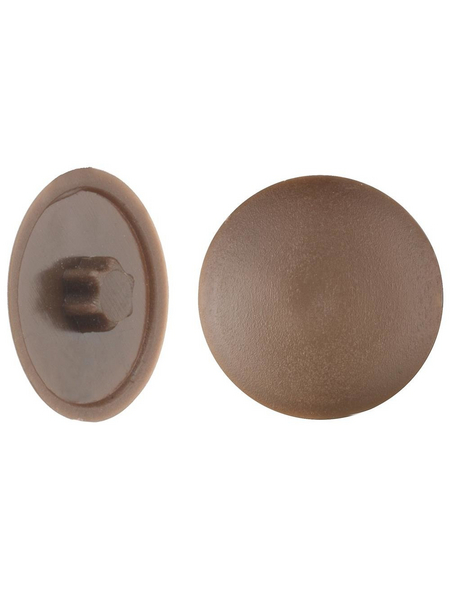 GECCO Abdeckkappe, TX25, PE, braun, Ø 13,5 mm, 50 St.