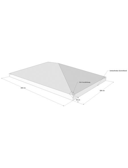GRASEKAMP Abdeckplane, B x T: 360 x 300 cm