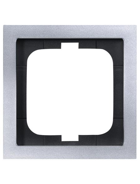 BUSCH-JAEGER Abdeckrahmen, Future® linear, 1-fach, Silber, Kunststoff