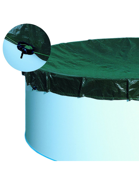SUMMER FUN Abdeckung, BxLxH: 400 x 800 x 1,2 cm, Polyethylen (PE)