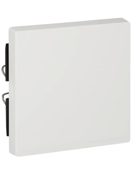 merten Abdeckung, System M, 1-fach, Polarweiß, Kunststoff