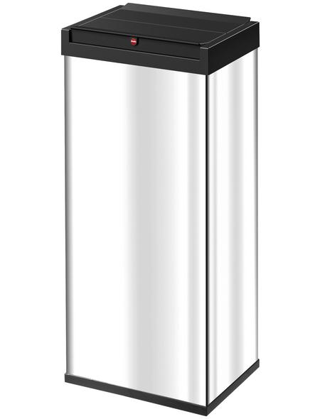 HAILO Abfalleimer »Big-Box Swing XL«, silberfarben