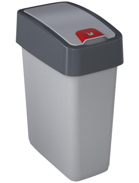 KEEEPER Abfalleimer »Magne«, Klappdeckel, 10 l, Polypropylen (PP)