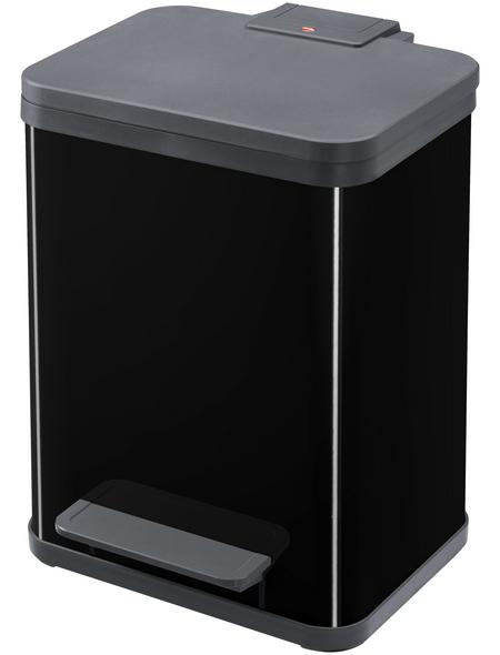 HAILO Abfalleimer »Öko uno plus M«, schwarz, mit Softclose