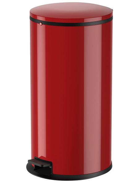 HAILO Abfalleimer »Pure XL«, signalrot, mit Softclose