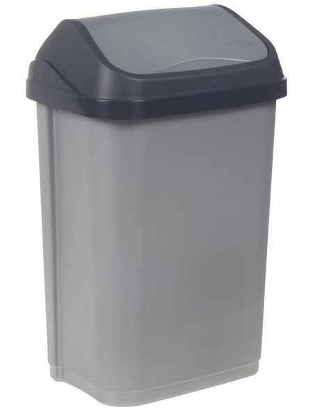 KEEEPER Abfalleimer »Swantje«, Schwingdeckel, 25 l, Polypropylen (PP)