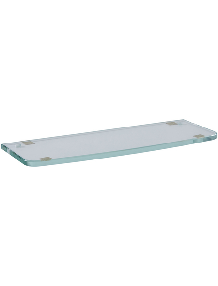 KEUCO Ablageplatte, Glas, glatt, transparent
