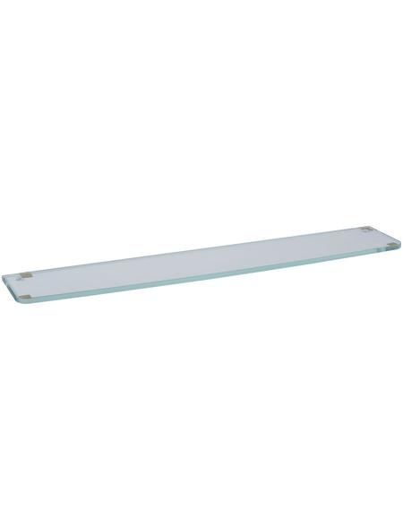 KEUCO Ablageplatte, Kristallglas, glatt, transparent