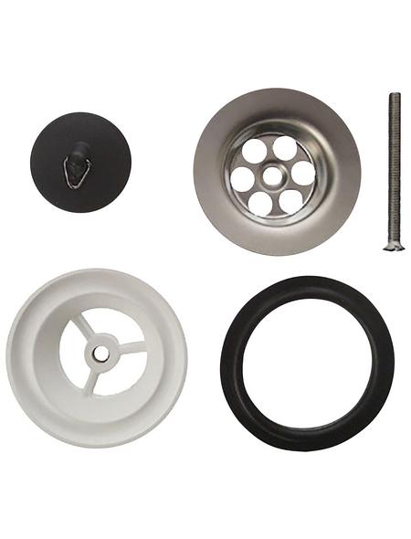 CORNAT Ablaufventil, Chrom-Nickel-Stahl/Kunststoff