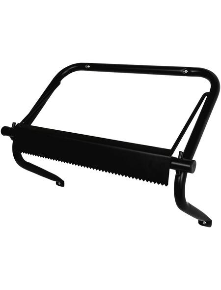 GO/ON! Abroller für Putztuchrollen, Wandhalterung, Schwarz, Metall, Schwarz, Metall, 220 x 500 x 370 mm