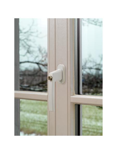 ABUS Abschließbarer FenstergriffFG210 Stahl/Kunststoff weiß