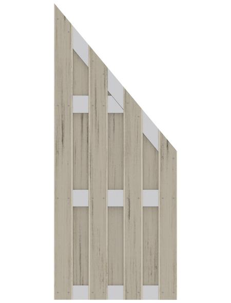 TraumGarten Abschlusselement »JUMBO«, Holz-Polymer-Werkstoffe (WPC), LxH: 179 x 179 cm