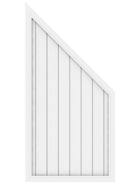 TraumGarten Abschlusselement »LL RIVA«, Kunststoff, LxH: 90 x 180 cm