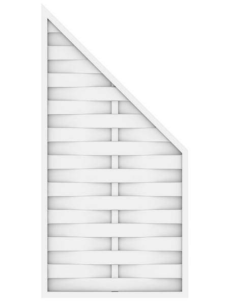 TraumGarten Abschlusselement »LL ROMO«, Kunststoff, LxH: 120 x 180 cm
