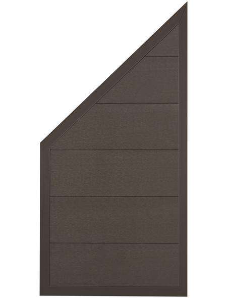 MR. GARDENER Abschlusselement »Moglia«, WPC, LxH: 90 x 180/93 cm