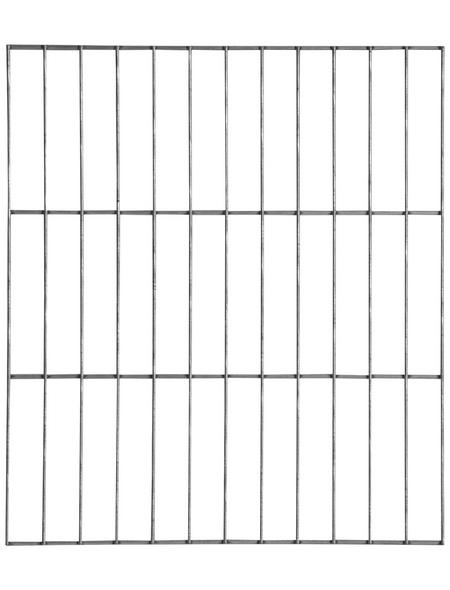 BELLISSA Abschlussgitter, BxH: 40 x 45 cm, Stahl