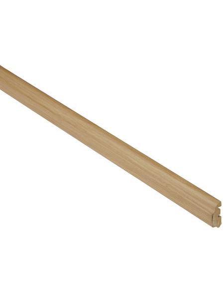 FN NEUHOFER HOLZ Abschlussleiste, Buche braun, MDF, LxHxT: 240 x 3,6 x 1,4 cm