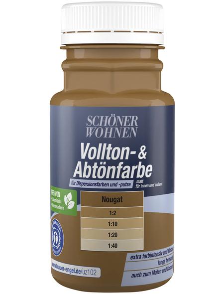 SCHÖNER WOHNEN FARBE Abtönfarbe, nougat, 125 ml