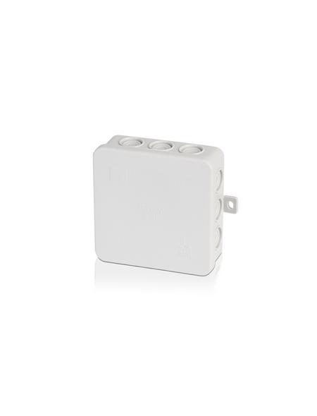 Abzweigdose, 100x100x52 mm, Lichtgrau
