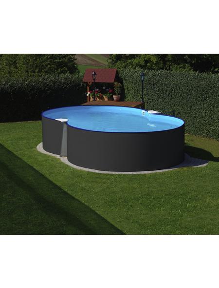 SUMMER FUN Achtformbecken-Set,  achtform, B x L x H: 300 x 470 x 120 cm