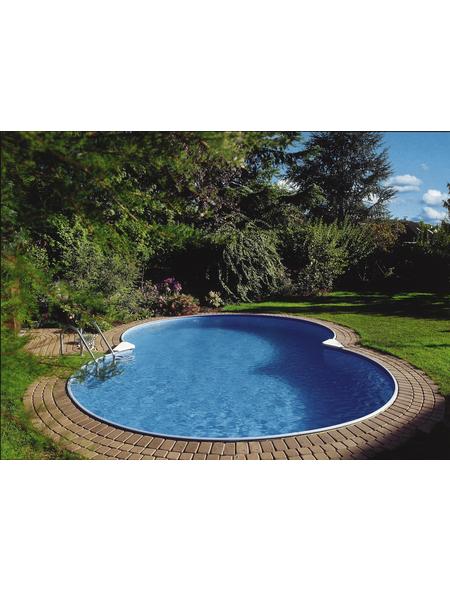 SUMMER FUN Achtformbecken-Set »Achtformbeckenset«, achtform, B x L x H: 420 x 650 x 120 cm