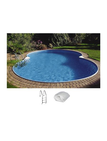 SUMMER FUN Achtformbecken-Set Achtformbeckenset , achtform, BxLxH: 300 x 470 x 120 cm