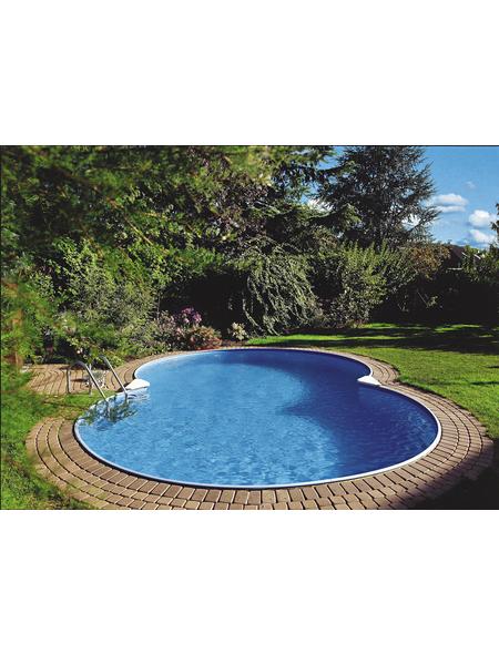 SUMMER FUN Achtformbecken-Set Achtformbeckenset , achtform, BxLxH: 420 x 855 x 120 cm