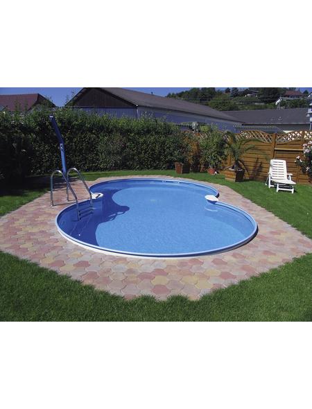 MYPOOL Achtformpool BxLxH: 625 cm x 360 cm x 120 cm