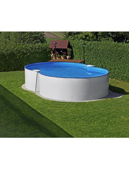 SUMMER FUN Achtformpool Set »Exclusiv«, achtform, BxLxH: 420 x 650 x 150 cm