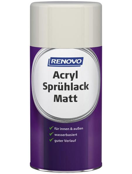RENOVO Acryl-Sprühlack, 250 ml, reinweiß