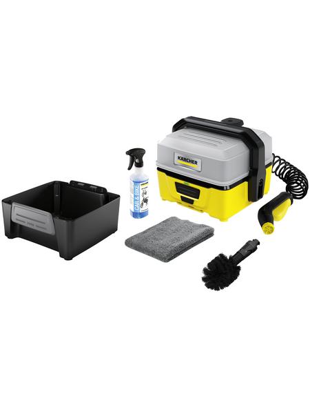 KÄRCHER Akku-Druckreiniger »Mobile Outdoor Cleaner 3 Bike Box«, max. 5 bar, max. Fördermenge 120 l/h