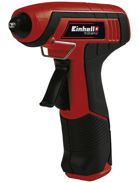 EINHELL Akku-Heißklebepistole »TC-CG 3,6/1 Li«, mit Akku, rot/schwarz