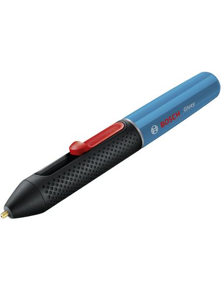 BOSCH HOME & GARDEN Akku-Heißklebestift »Gluey«, mit Akku, blau