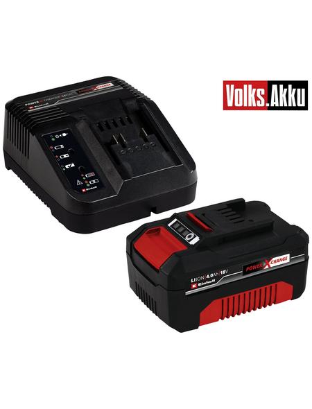 EINHELL Akku + Ladegerät »PXC«, Universell verwendbar für alle Power X-Change Geräte