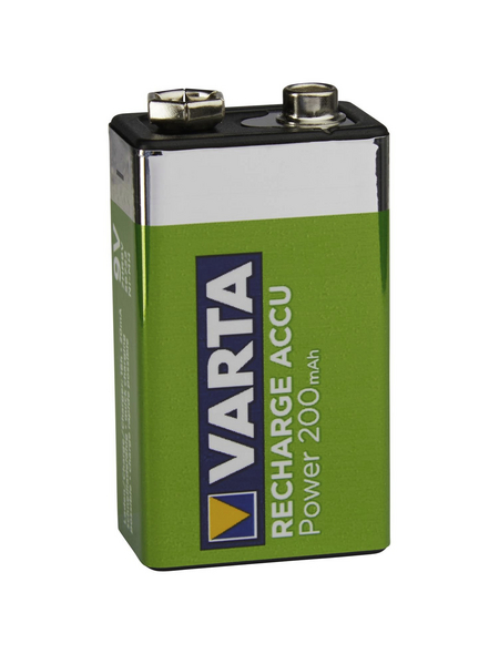 VARTA Akku »RECHARGE ACCU Power«, 9 V
