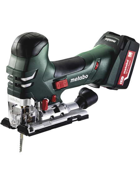 METABO Akku-Stichsäge »STA 18 LTX 140«, inkl. 2 Li-Power Akkupacks (18 V/4,0 Ah)