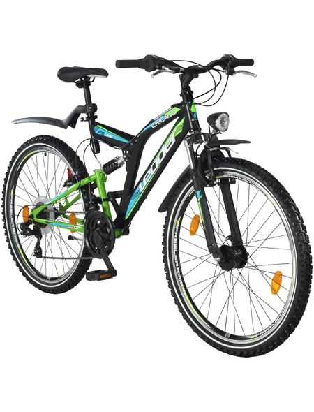 LEADER All-Terrain-Bike, 21 Zoll, Herren