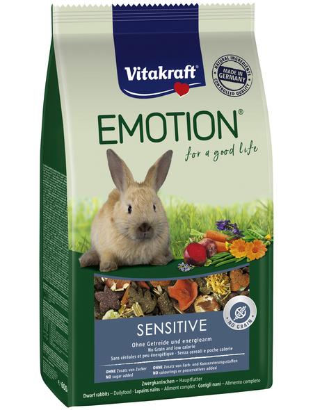 VITAKRAFT Alleinfuttermittel »Sensitive«, für Zwergkaninchen