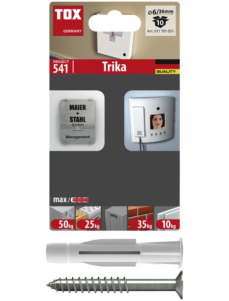 TOX Allzweckdübel, Polyethylen, 10 Stück, 6 x 36 mm