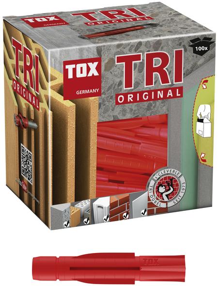 TOX Allzweckdübel, Polyethylen, 100 Stück, 8 x 51 mm