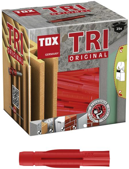 TOX Allzweckdübel, Polyethylen, 25 Stück, 12 x 71 mm